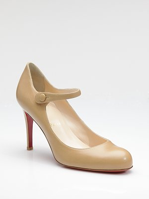 louboutin events mary jane