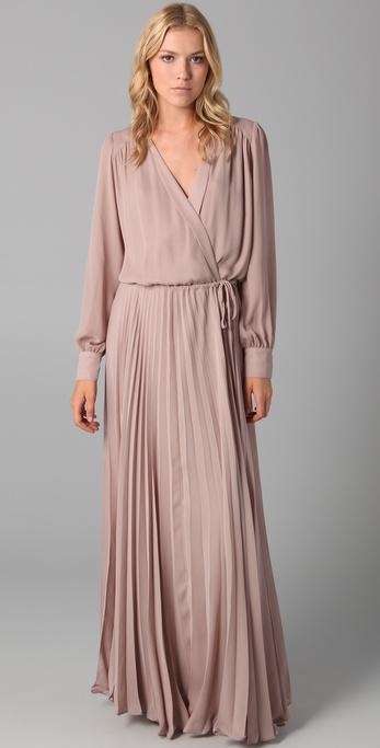 Ask Faith I Need A Long Sleeve Wrap Maxi Dress Help