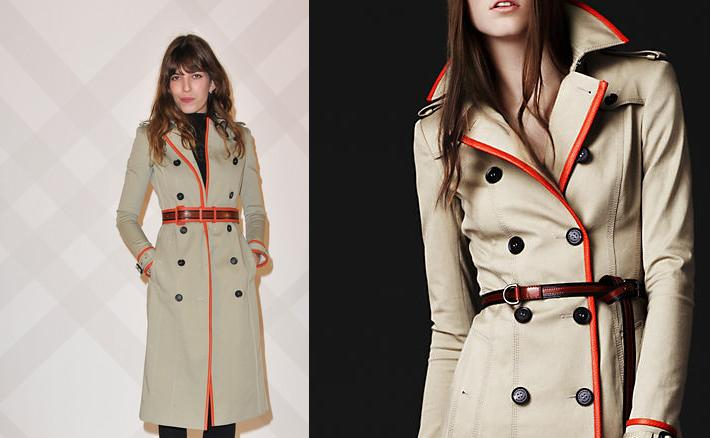 045628c3f140 Get Lou Doillon s Burberry Stretch Gabardine Trench Coat, Worn at the Burberry  Paris Boutique Opening – Urban Sybaris