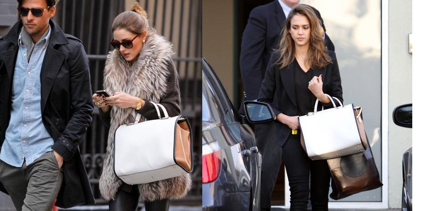 who-wore-it-best-olivia-palermo-vs-jessica-alba-anya-hindmarch-burton-top-handle-bag