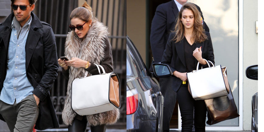 who-wore-it-best-olivia-palermo-vs-jessica-alba-anya-hindmarch-burton-top-handle-bag