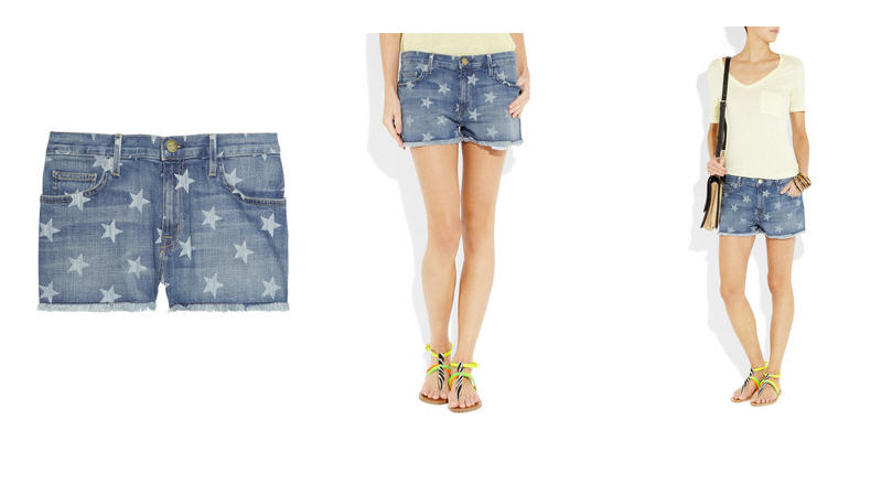 current-elliott-the-boyfriend-star-print-denim-shorts-3