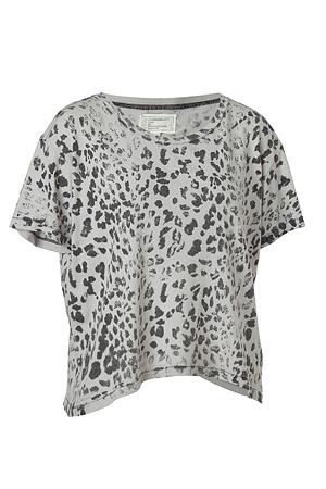 Get Diane Krugers Currentelliott Grey Leopard Print Freshman Tee