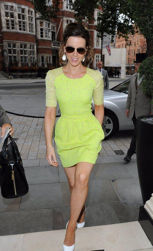 Kate Beckinsale In Preen Resort 2013, Worn At The