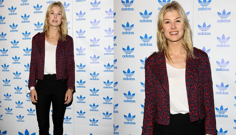rosamund-pike-the-stone-roses-adidas-secret-gig-london-2