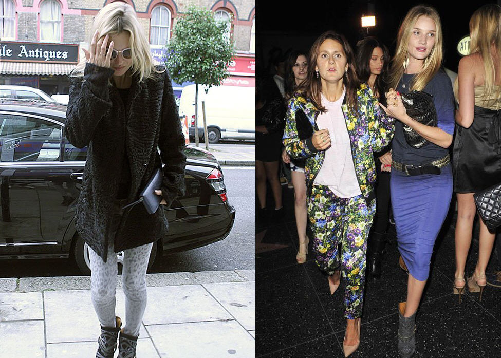 3f6e4f5a363 Who Wore Isabel Marant's Studded Milwaukee Boots Best? Kate Moss vs ...
