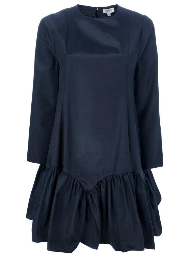 kenzo-drop-waist-oversized-dress