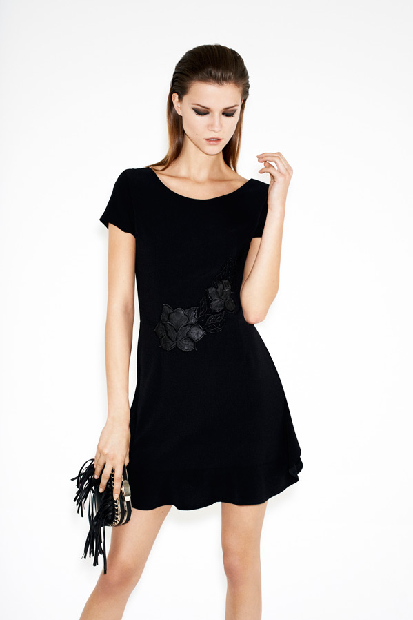 zara-twelve-lookbook-kasia-struss-dress-with-appliques-and-frills-box-clutch-with-fringes