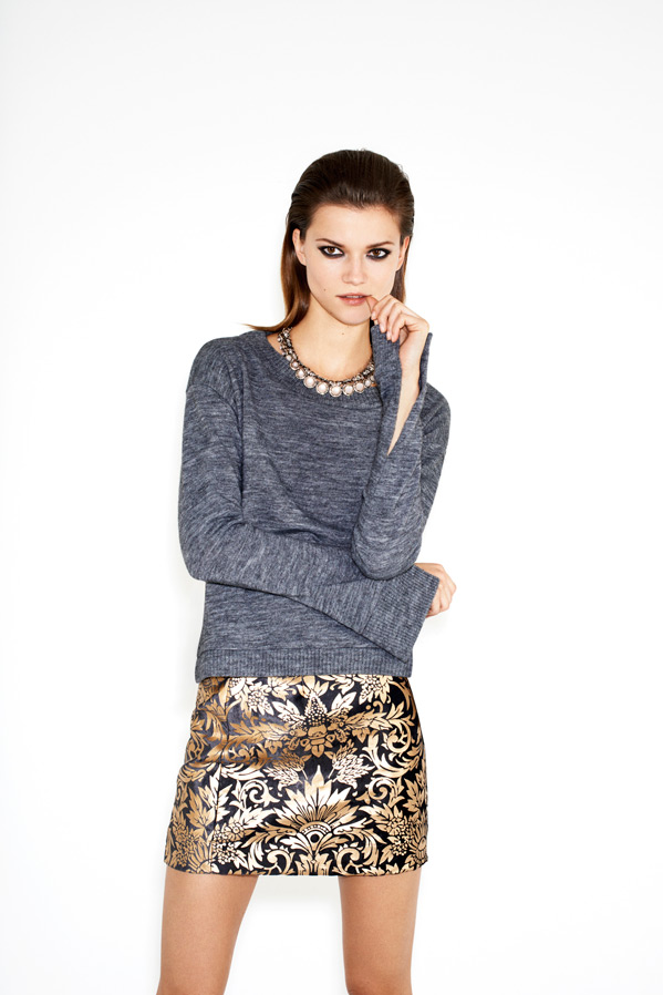 zara-twelve-lookbook-kasia-struss-jacquard-mini-skirt