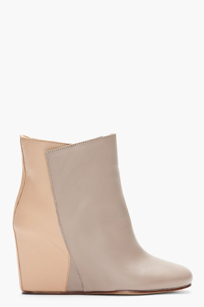mm6-maison-martin-margiela-taupe-two-tone-leather-wedge-ankle-boots