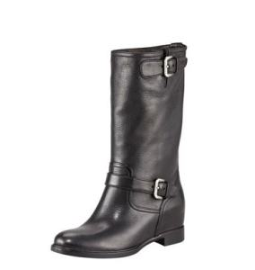 prada-leather-double-buckle-internal-wedge-boots