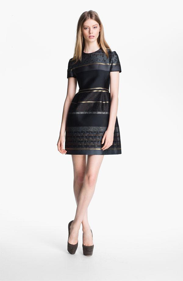 victoria-victoria-beckham-stripe-jacquard-dress