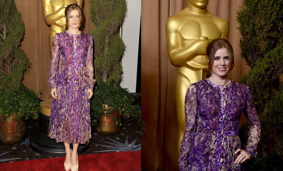 Amy Adams in J. Mendel Spring 2013, Worn at the 85th Academy Awards