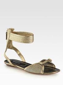 derek-lam-hurley-metallic-leather-sandals