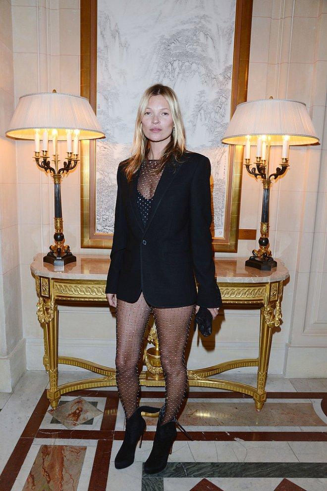 kate-moss-cr-fashion-book-issue-2-party-paris-saint-laurent-fall-2013-mens-blazer-womens-diamante-bodysuit