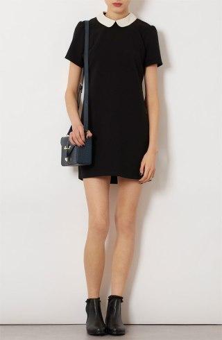 topshop-contrast-collar-shift-dress