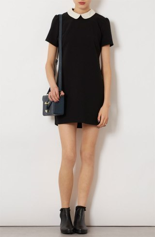 topshop-contrast-collar-shift-dress