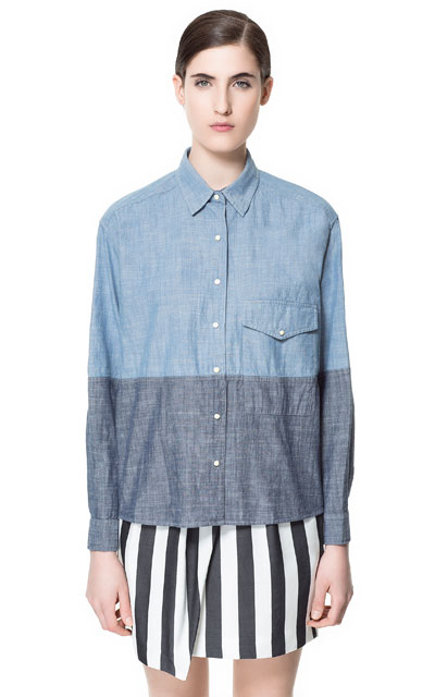 zara-two-tone-chambray-shirt