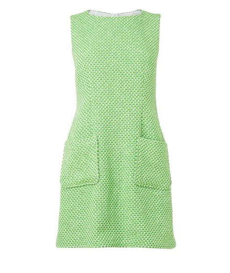 jaeger-fluoro-tweed-shift-dress