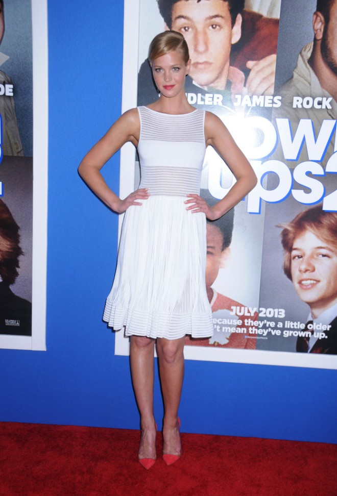 erin-heatherton-grown-ups-2-new-york-premiere-azzedine-alaia-danae-sheer-panel-dress-gianvito-rossi-suede-and-pvc-pumps