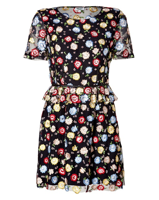 kenzo-silk-floral-embroidered-dress