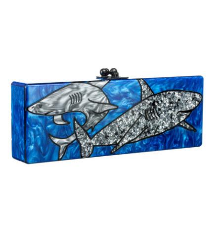 edie-parker-spring-2014-flavia-sharks-clutch