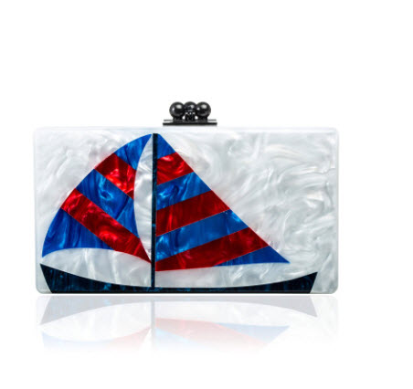 edie-parker-spring-2014-jean-sailboats-clutch