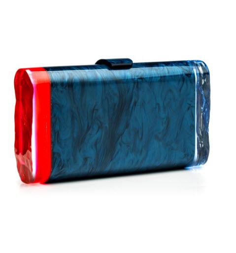 edie-parker-spring-2014-lara-backlit-blue-crimson-navy-clutch