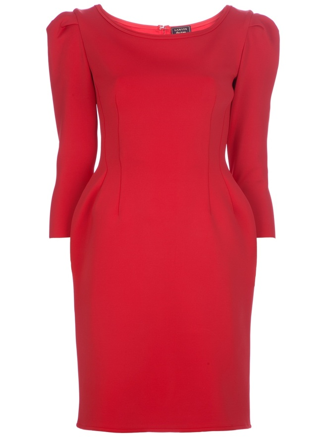 lanvin-fitted-dress