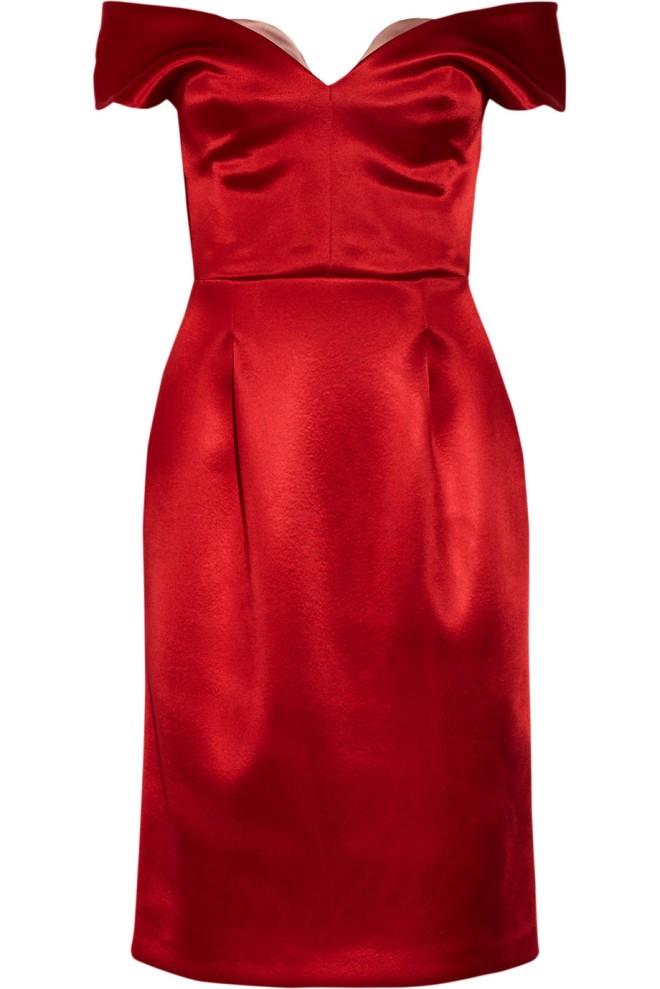 jonathan-saunders-auste-satin-jersey-bustier-dress