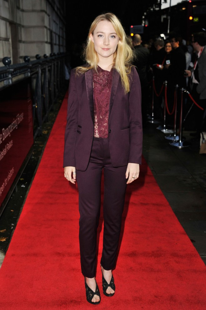 saoirse-ronan-2013-bfi-london-film-fsetival-the-kooples-velvet-jacket-biker-lace-shirt-velvet-pocket-trousers-1