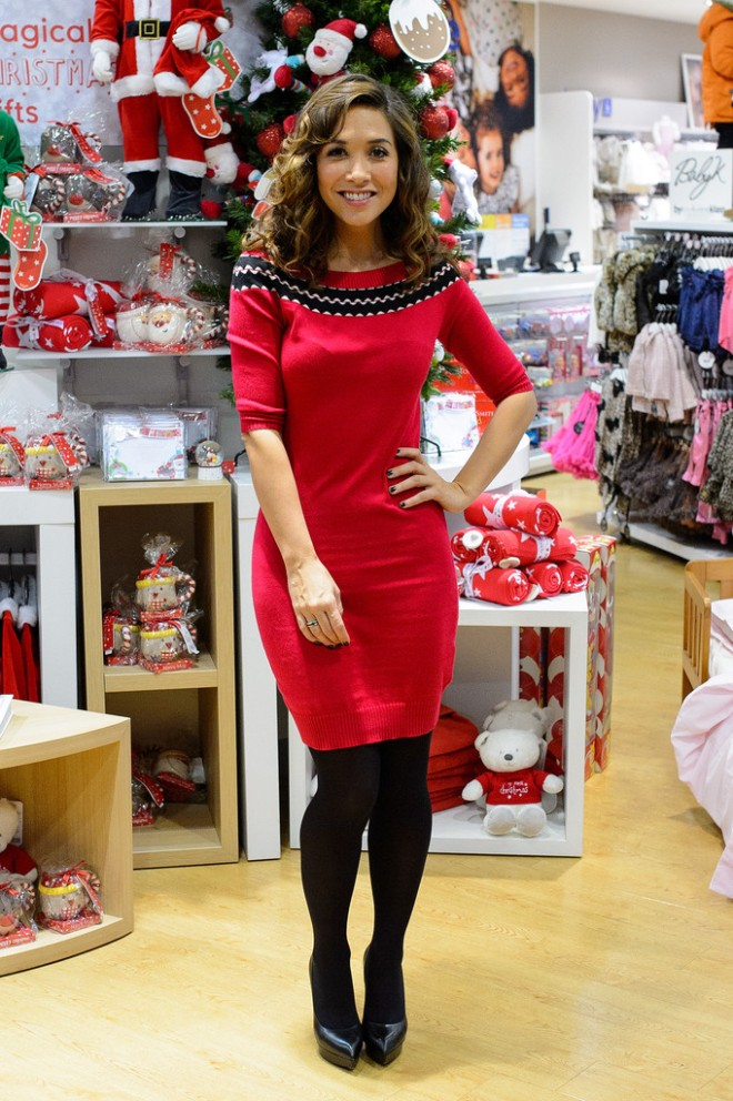 myleene-klass-mothercare-vip-christmas-party-photocall-london-myleene-klass-for-very-co-uk-off-the-shoulder-sweater-dress