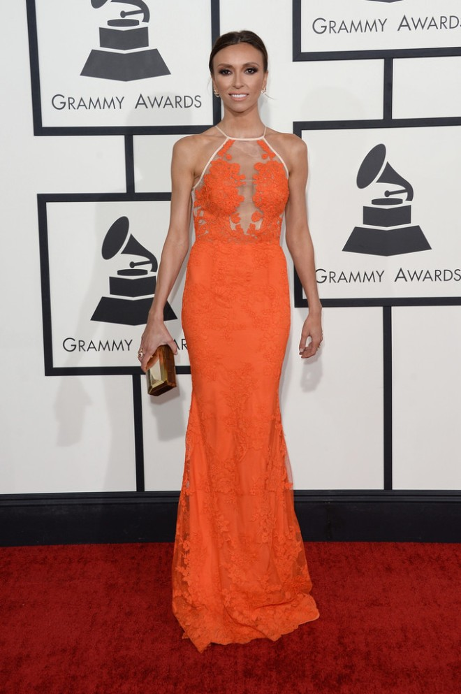 giuliana-rancic-56th-grammy-awards-alex-perry-resort-2014-gown