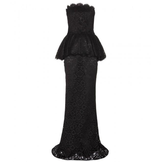 dolce-gabbana-strapless-lace-peplum-dress