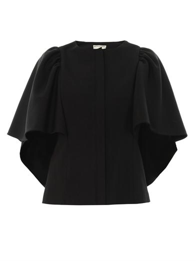 balenciaga-cape-sleeve-blouse