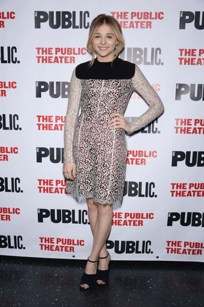 chloe-moretz-the-library-opening-night-party-carven-pre-fall-2014-dress