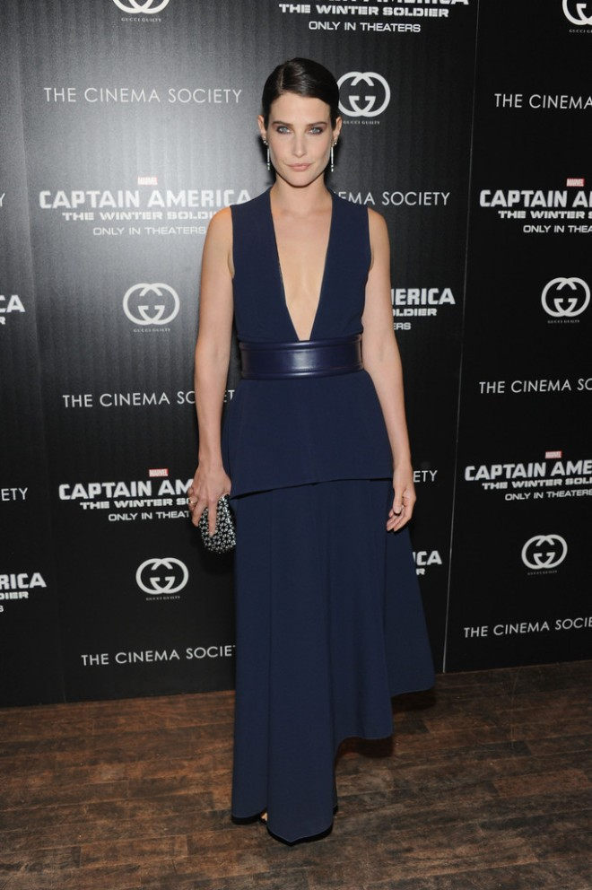 cobie-smulders-captain-america-the-winter-soldier-nyc-screening-sportmax-fall-2014-dress