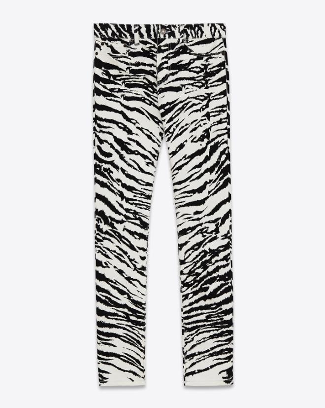 saint-laurent-original-low-waisted-skinny-jean-white-black-tiger-printed-stretch-denim
