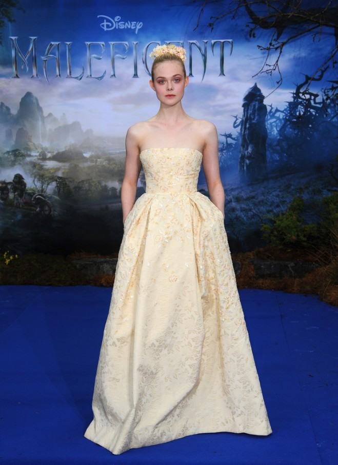 elle-fanning-maleficent-costume-and-props-reception-london-georges-hobeika-fall-2014-couture-gown