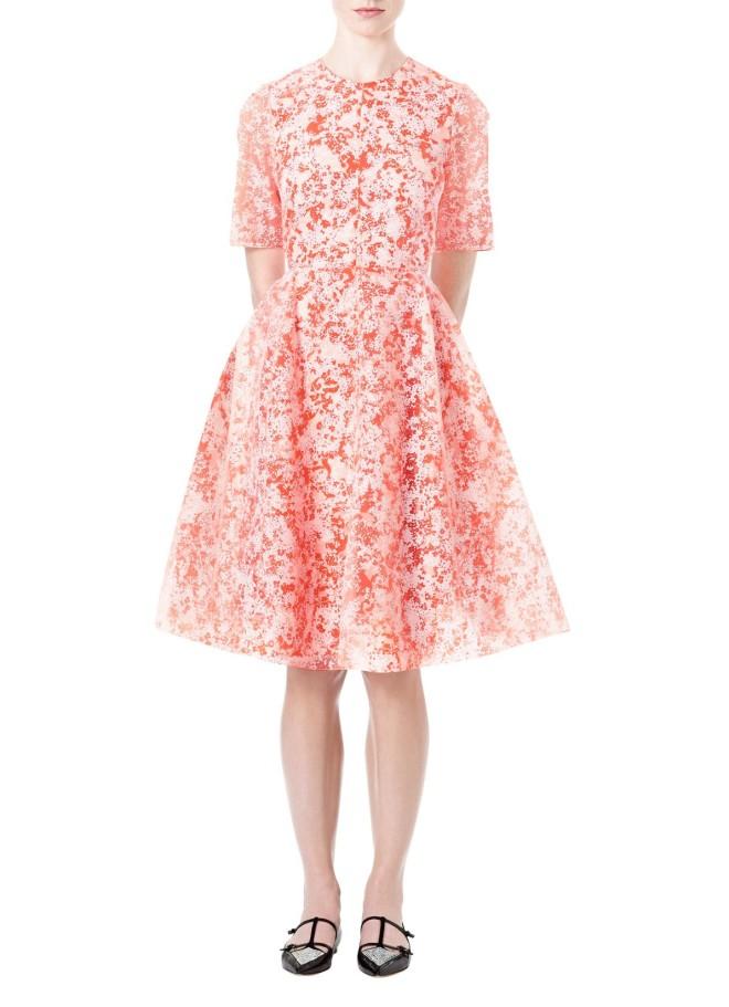 honor-floral-organza-jewel-neck-dress