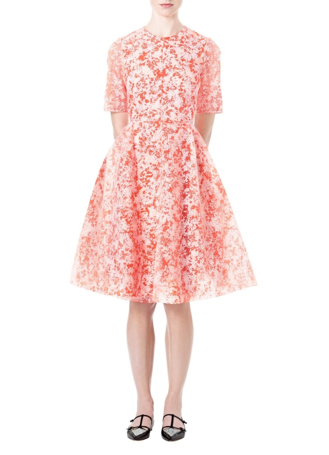 honor-floral-organza-jewel-neck-dress