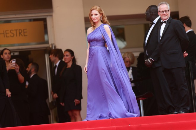 jessica-chastain-foxcatchers-premiere-67th-annual-cannes-film-festival-elie-saab-purple-gown-spring-2014-couture-1