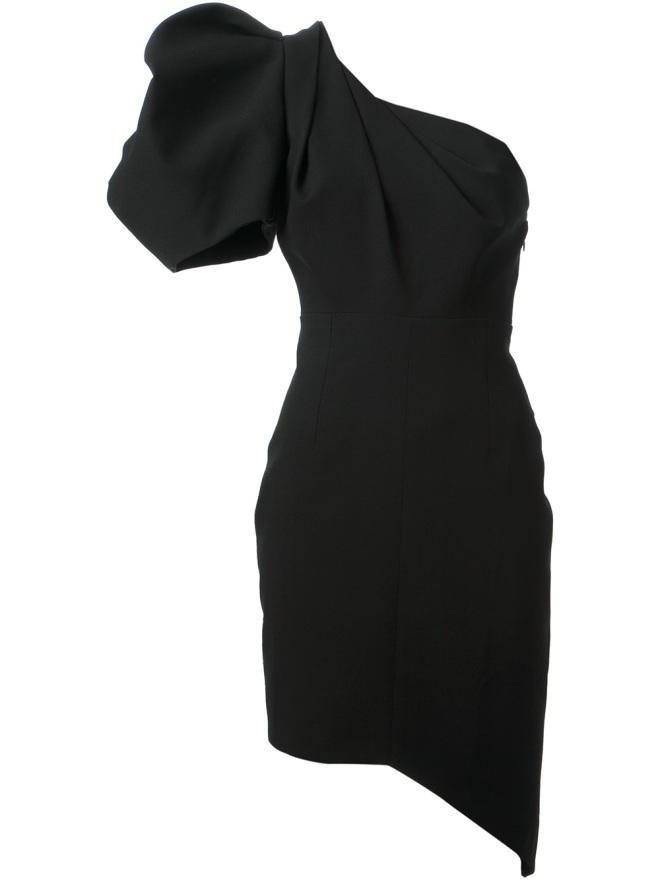 saint-laurent-one-shoulder-dress