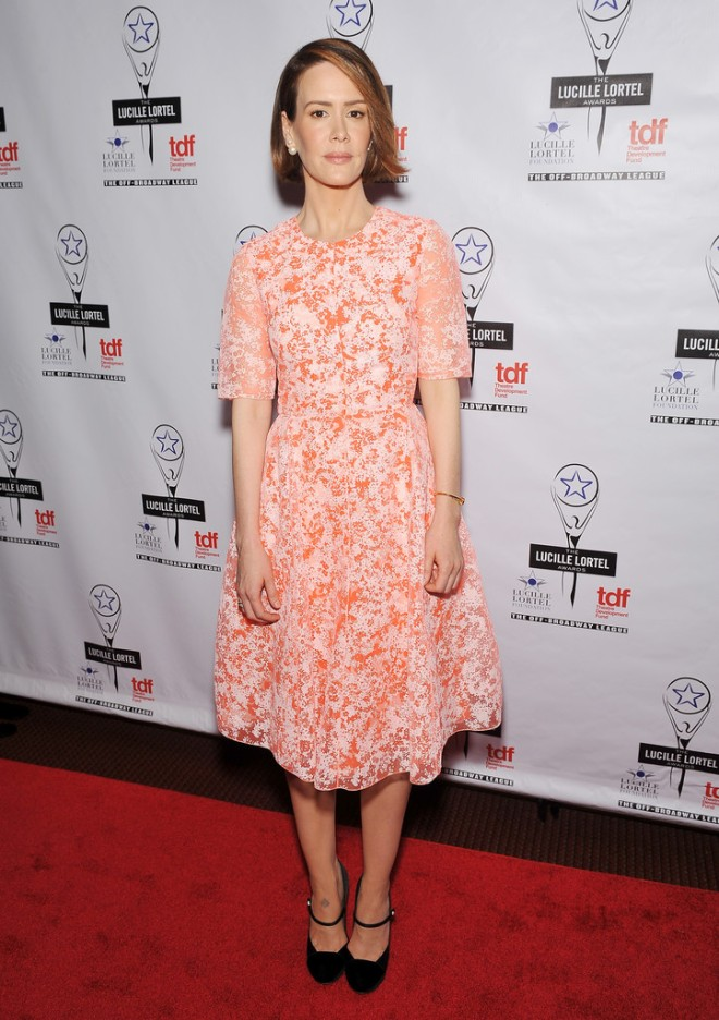 sarah-paulson-29th-lucille-lortel-awards-honor-floral-organza-jewel-neck-dress-new-york-city
