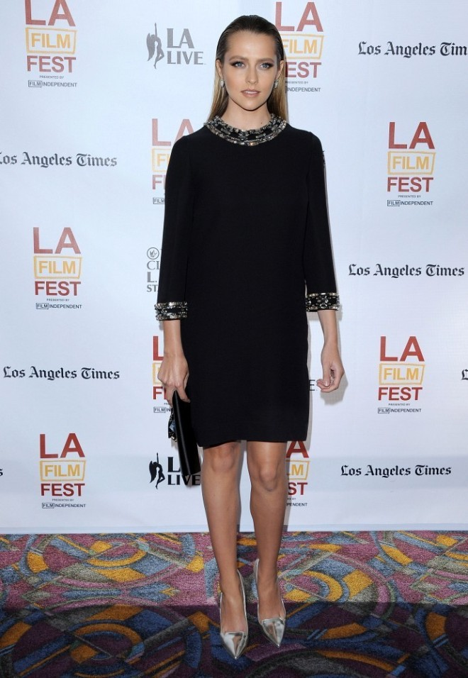 teresa-palmer-cut-bank-screening-2014-los-angeles-film-festival-gucci-pre-fall-2014-dress