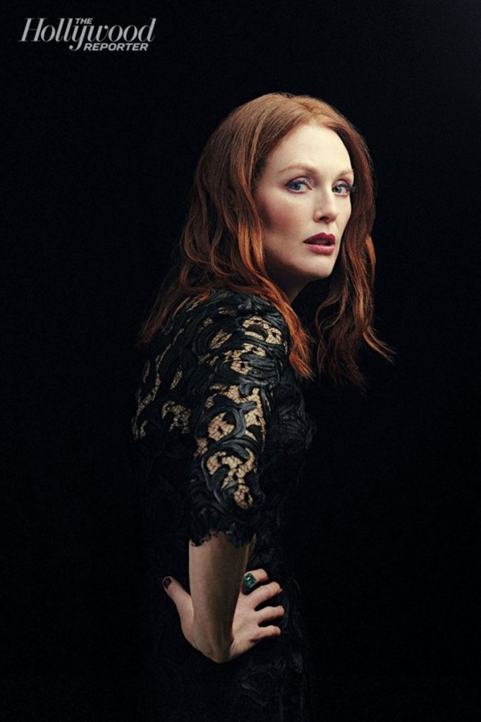 JULIANNE MOORE in The Hollywood Reporter Magazine