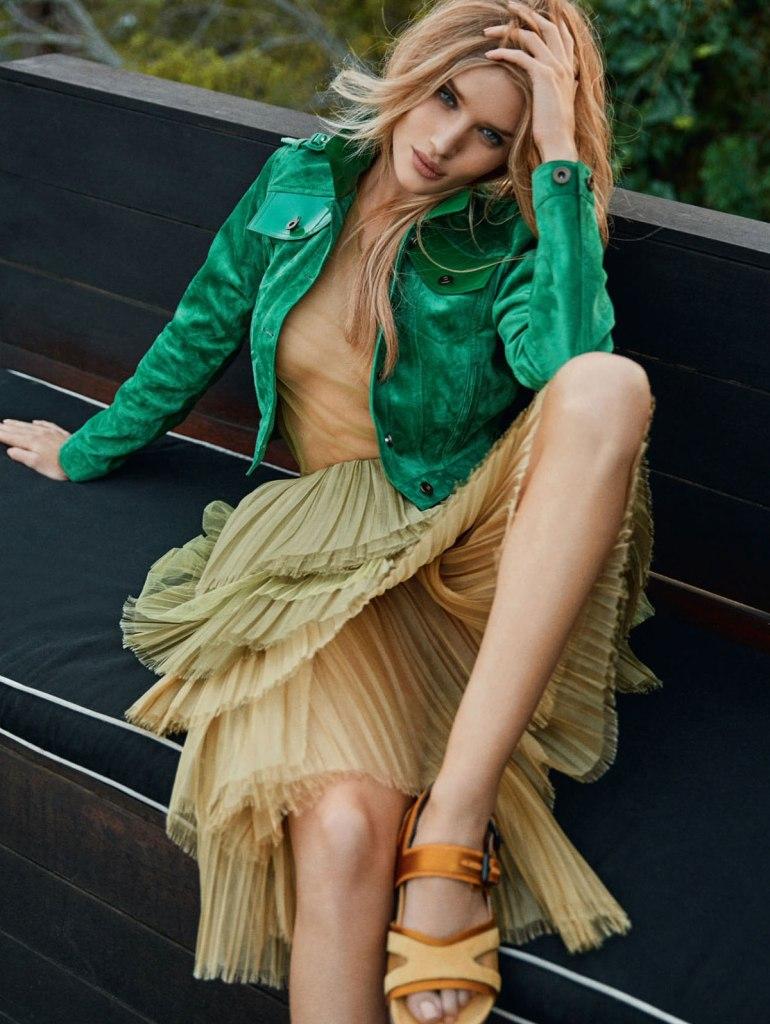 ROSIE HUNTINGTON-WHITELEY for Elle Magazine