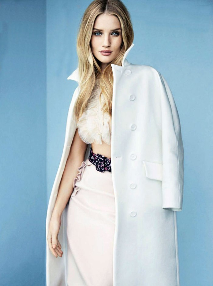 ROSIE HUNTINGTON-WHITELEY for Elle Magazine